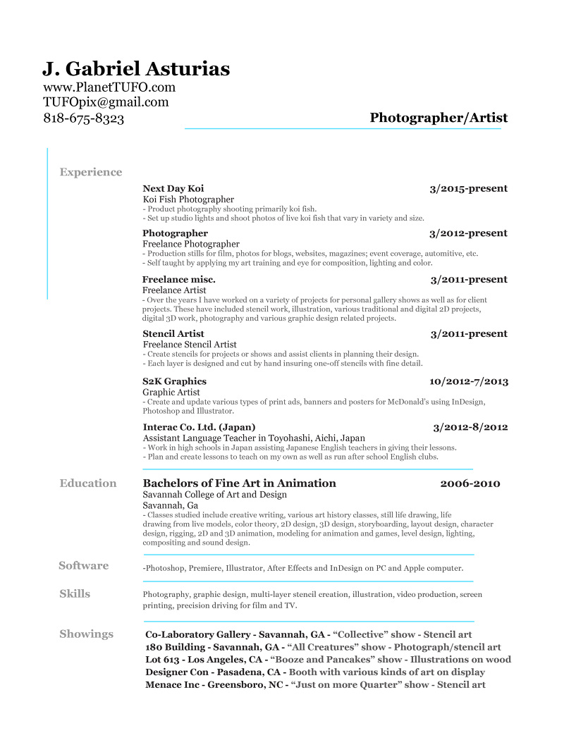 Sample Resume Professional Resume For Makeup Artist Carpinteria Rural  Friedrich  Freelance Artist Resume