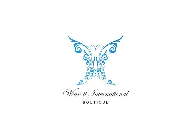 Fashion Brand Logo Design Nina Hunter Portfolio Of Work